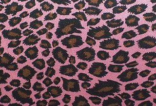 Silky cheetah pink