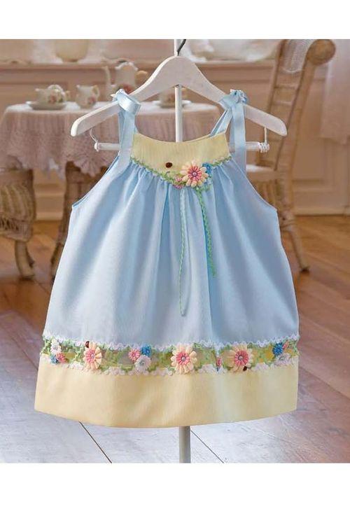 Как украсить платье своими руками детское