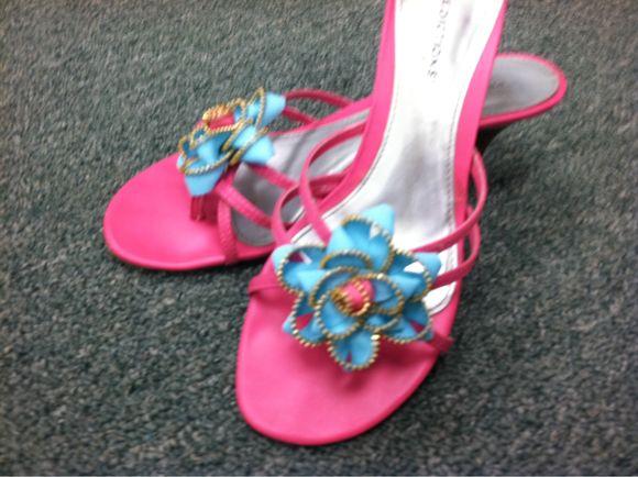 Zipper Sandals