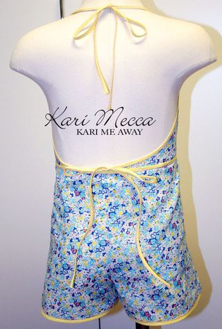 Wraparound Jumpsuit  3 by Kari Mecca