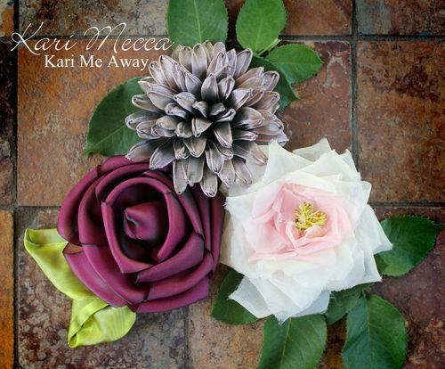 Blooming Beauties Class by Kari Mecca