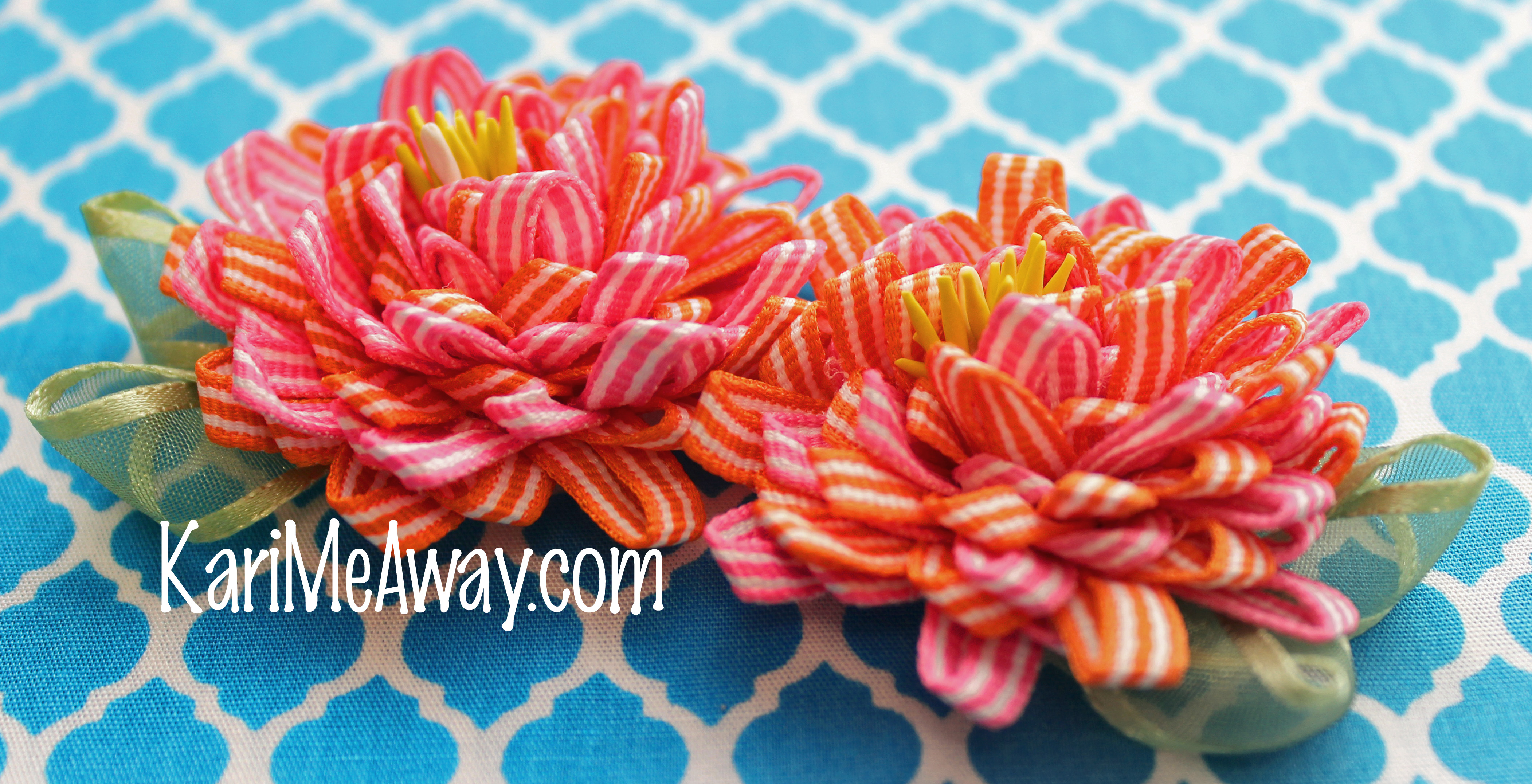 Kari Me Away: Create a Whimsy Mirrored Garland Flower You Can Be ...