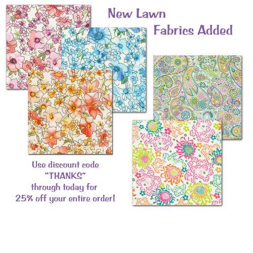 Lawn sale fabrics copy
